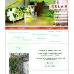 web Salón Relax
