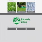 web Záhrady Žilina